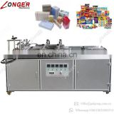Industrial Price Stationery Box Book Audio Product Wrapping Machine CD Cellophane Overwrapping Machine