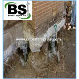 Foundation Repair Push Piers system and Helical Piers