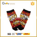 Women Fashion Low Cut Ankle Socks Cotton REOPrinted Cartoon /Grils Dress Sublimated Socks Fashion Design