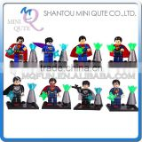 Mini Qute LEBQ 8pcs/set Marvel Avenger batman Superman super hero building block action figures educational toy NO.1661-1668