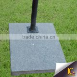 Outdoor beach umbrella supplier wholesale granite umbrella base parts with 45kg