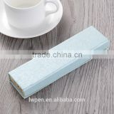 Wholesale crystal pen with blue paper box packaging gift set                                                                                                         Supplier's Choice
