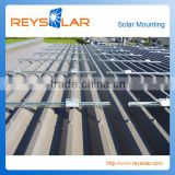 indurstial solar panel mounting brackets with solar mounting for house top home roof solar mounting structure