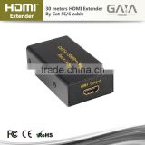 2015 New Sale signal 30m HDMI Extender by Dual CAT 5E/6 hdmi extender repeater adapter cable up to 30M