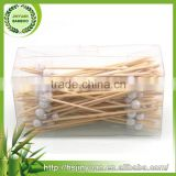 2016 Cheaper best Choice cocktail bamboo tape skewer pick stick