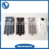 2015 Phone /cell phone silicone rubber keypad with conductive pill