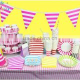 3M/String Double-sided Paper Flags / Children's Birthday Party Flag / Banner / Birthday Pennant