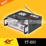 car high end amplifier YT-K01 with remote control support FM/MP3