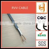 2.5mm PVC, 220v Power Cord Cable