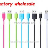 Factory Wholesales UL Certified Colorful Micro USB Cable USB Charge Wires And Cables Electrics Charger Cable 30CM