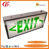 LED Exit Light Box, 5W Emergency Exit Sign, Evacuation Indicating lamps box with 3 years warranty