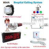 Wireless Nursing Call bell System for elderly Disabled hospital emergency center Service push calling button