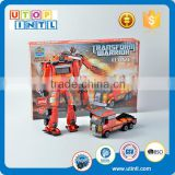 High quality plastic 2 in 1 DIY building block robot DIY building block toy                                                                                                         Supplier's Choice