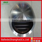 outside wall stainless steel hood air vent for HVAC system