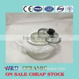 China Manufacturer Stocked small ceramic Porcelain Soup Tureen