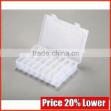 Cosmetic Flocking Plastic Clamshell Trays, Tailor Made PP Holder Box Manufacturer Manufacturer