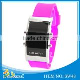 Hot selling popular customized silicone strap watch