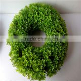 2016 Hanging Good Quality Artificial Moss Grass Garland Rings/garland
