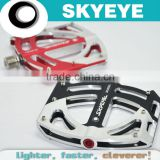 Super Anodized Magnesium Alloy Bike Pedals B-338 Precise CNC Exercise Bike Pedal With Low Price