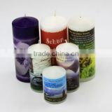 Long Time Burning Scented Pillar Candle for Sale