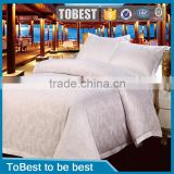 Brand new cotton fabric jaquard hotel linen wholesale satin bedding set / bedding sheet / duvet cover sets