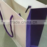resonable price high quality bakery paper bag with handle