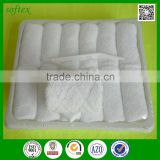 wholesale china factory Disposable Airplane Terry 10x10 cotton terry flight hot towel
