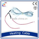 carbon fiber heat cable silicon 24v heating wire