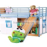 2015 home use modern fashionable kids bunk bed ,kids bed bunk slides ,colorful bunk bed for kids