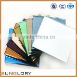 Colored Mirror glass sheet all collor
