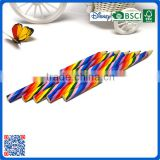 Jumbo wood hexagonal shape multi crayons colored lead pencil for gifts                                                                                                         Supplier's Choice