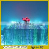 2015 new products fiber optic illumination light home table decoration
