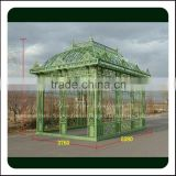 High Quality Outdoor Decoration Wrought Iron Gazebos                                                                         Quality Choice