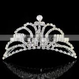 wholesale rhinestone crystal beauty pageant crowns and tiaras