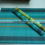 Bamboo rolling table mats