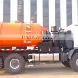 12000L vacuum truck with Benz chassis for vacuum sucking liquid waste