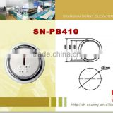 Fire-resistant shell stainless steel surface elevator push button switch/elevator push button/SN-PB410