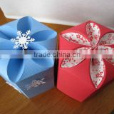 Custom Printed Petal Boxes for Chocolate Packaging, Baby Showers, Gift Packaging, Wedding Favors