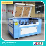 CO2 China high speed blue and white 1290 laser engraving machine with up and down platform 1200*900mm
