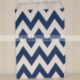 Navy Blue and white Chevron Candy Bags for Candy Bars