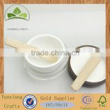 wooden wood rubber wood cosmetic cream spatula