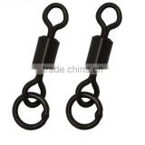 long body rolling swivel with solid ring for carp fishing