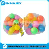 PVC small inflatable beach balls/Inflatable colorful small ocean balls/6cm 7cm small inflatable PVC Ball toy PU foam ball