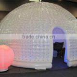hot sale xingyuan inflatable clear bubble tent, dome bubble room outdoor