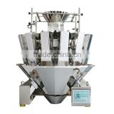 14 hoppers multihead weigher for noodles,cereal,pasta,candy,sweet,sugar,caramel,cornflakes,jelly,walnel kernel,lentils,etc