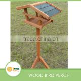 Wood Bird Perch