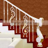 Popular outdoor and indoor iron stair railing design, staircase railing design, indoor stair railings on alibaba.com