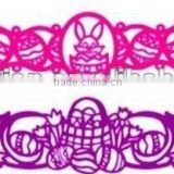 2012 new arrival tattoo designs hollowed silicone bracelet