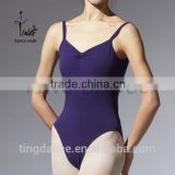 2015 new camisole high back dance leotard