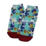 Quality cotton 360 degree seamless children digital print socks, sublimation socks, wholesale custom print socks
